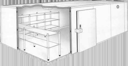 Cuartos frios guatemala refrigeraci n industrial comercial for Cuarto frio cocina